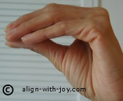Polarity correction finger position