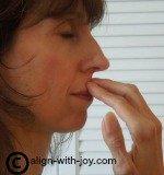 Polarity reversal correction under nose position